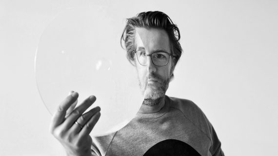 Olafur Eliasson behind the scenes image