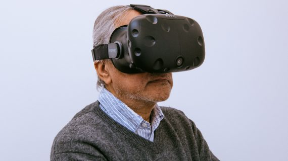 Anish Kapoor in virtual reality image