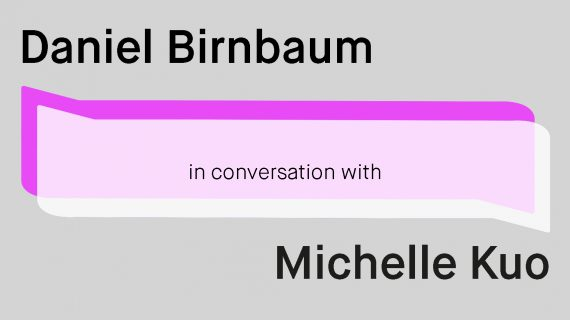 Acute Art presents Daniel Birnbaum in conversation with Michelle Kuo image