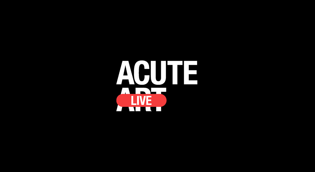Acute Art Live with Matthew Slotover image