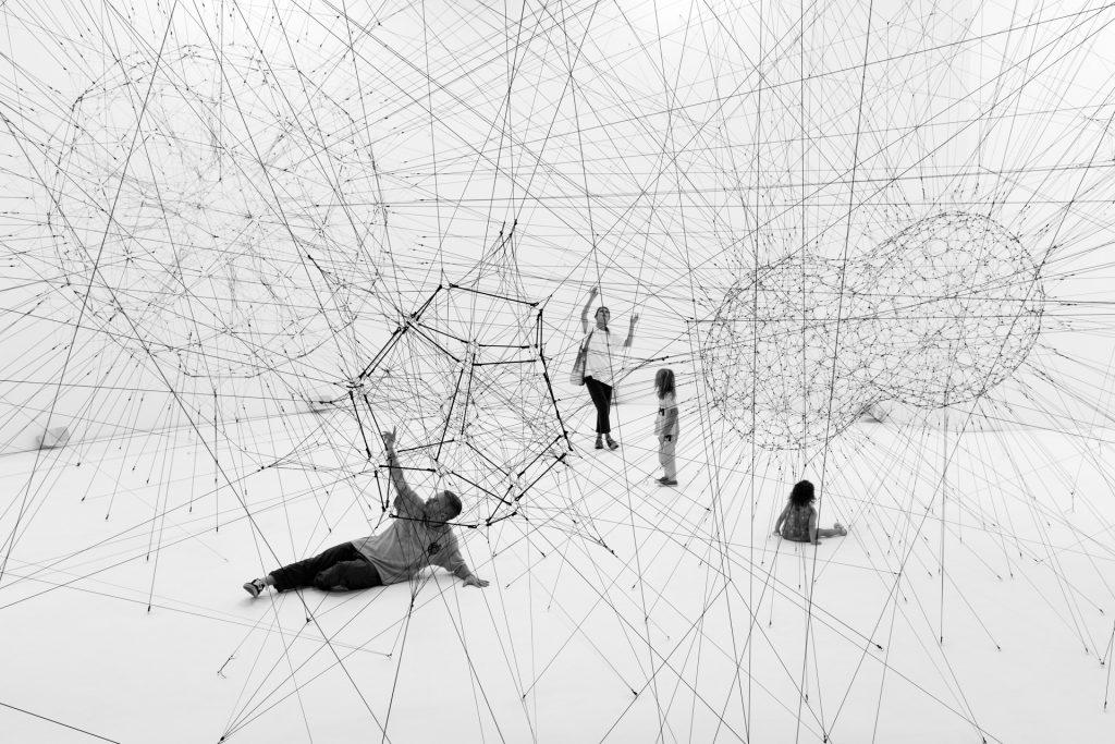 Tomás Saraceno on Acute Art Live image