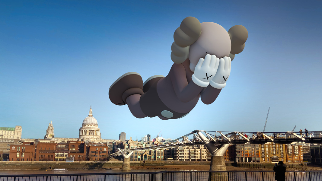 KAWS at Nuit Blanche image