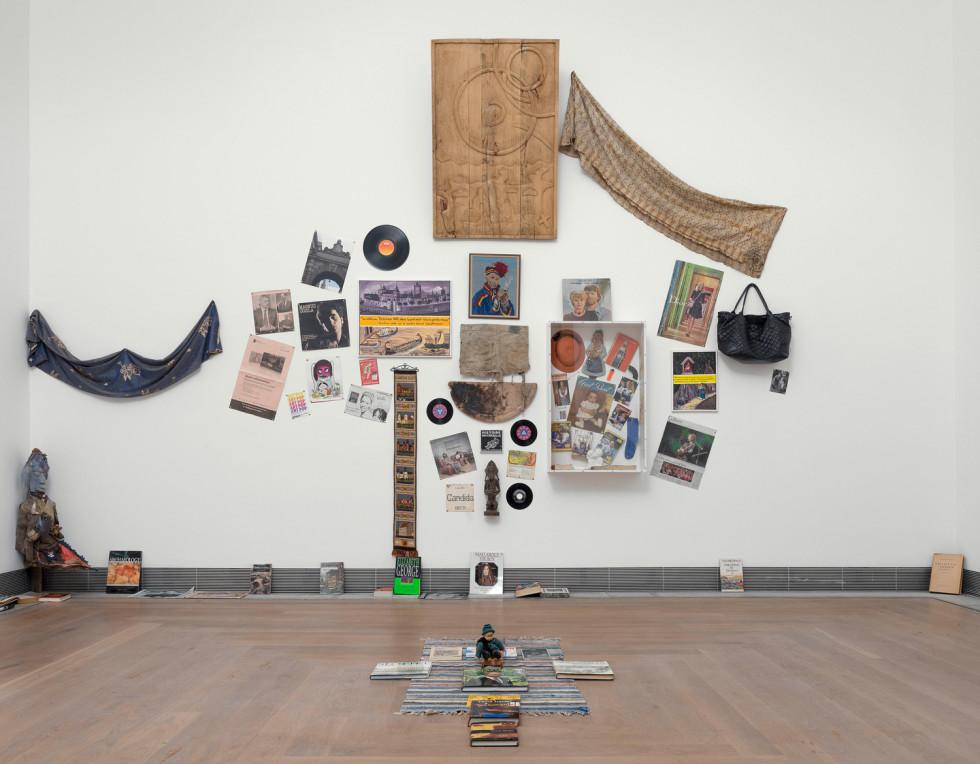 Georges Adéagbo on Acute Art Live image