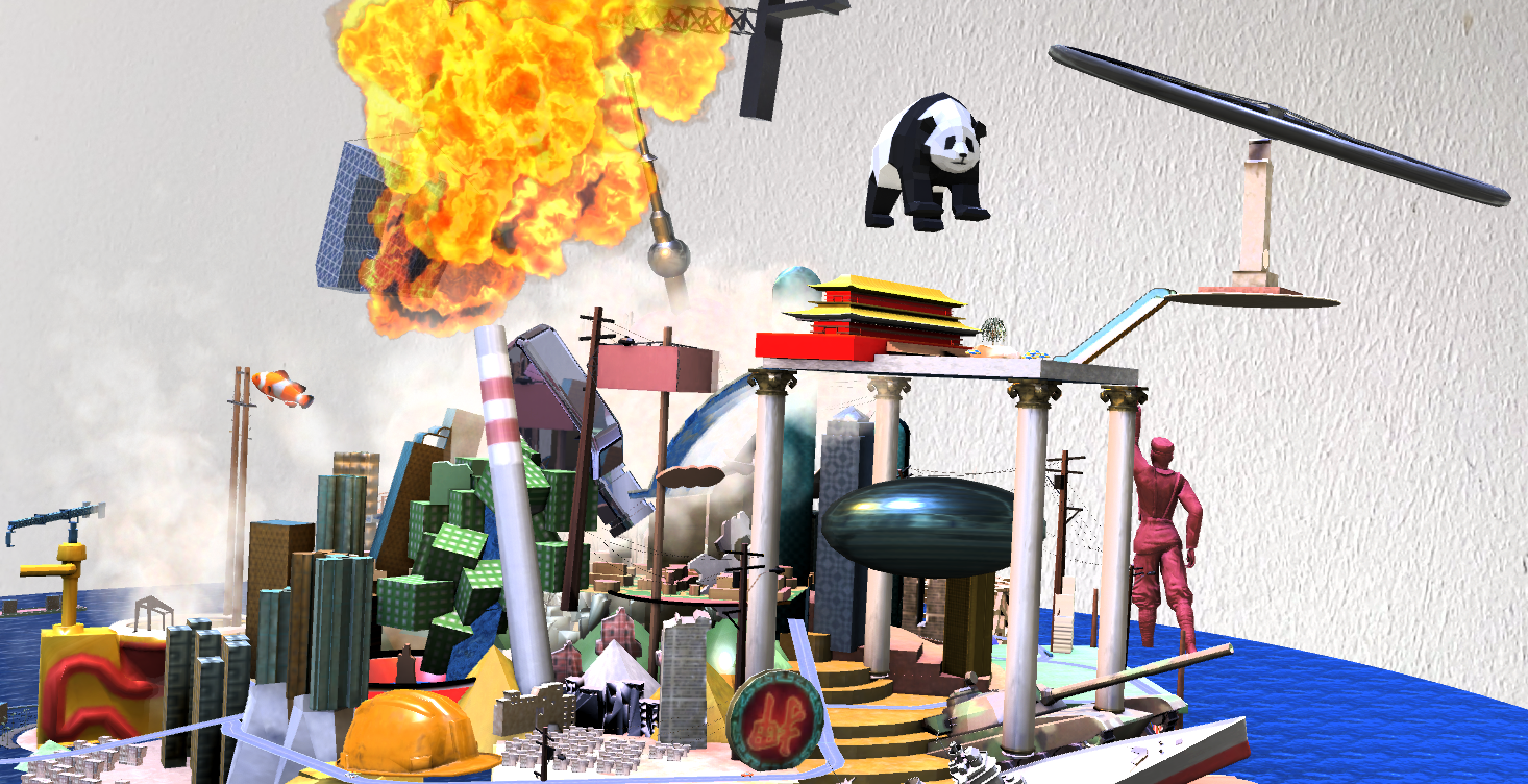 Virtual Reality & Augmented Reality Art Production image